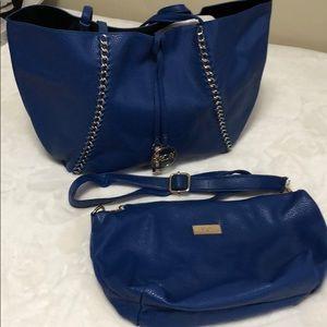BCBG Shopper w/ matching Crossbody Bag